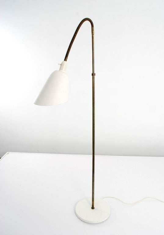 Mid-20th Century Rare Floor Lamp by Arne Jacobsen for Louis Poulsen, Early Work For Sale