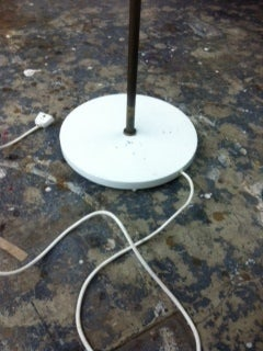 Rare Floor Lamp by Arne Jacobsen for Louis Poulsen, Early Work For Sale 2