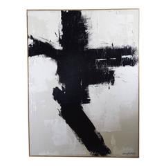 """Energy"" Original Painting by Argentine Artist Karina Gentinetta (36"" x 48"")"