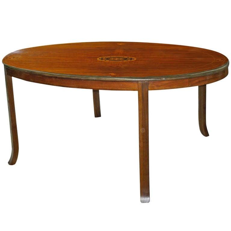 Victorian Inlaid Walnut Loo Top Coffee Table 19th Century At 1stdibs