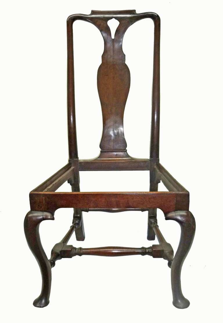 Wonderful Queen Anne Period Walnut Side Chair Circa 1700 For Sale At 1stdibs