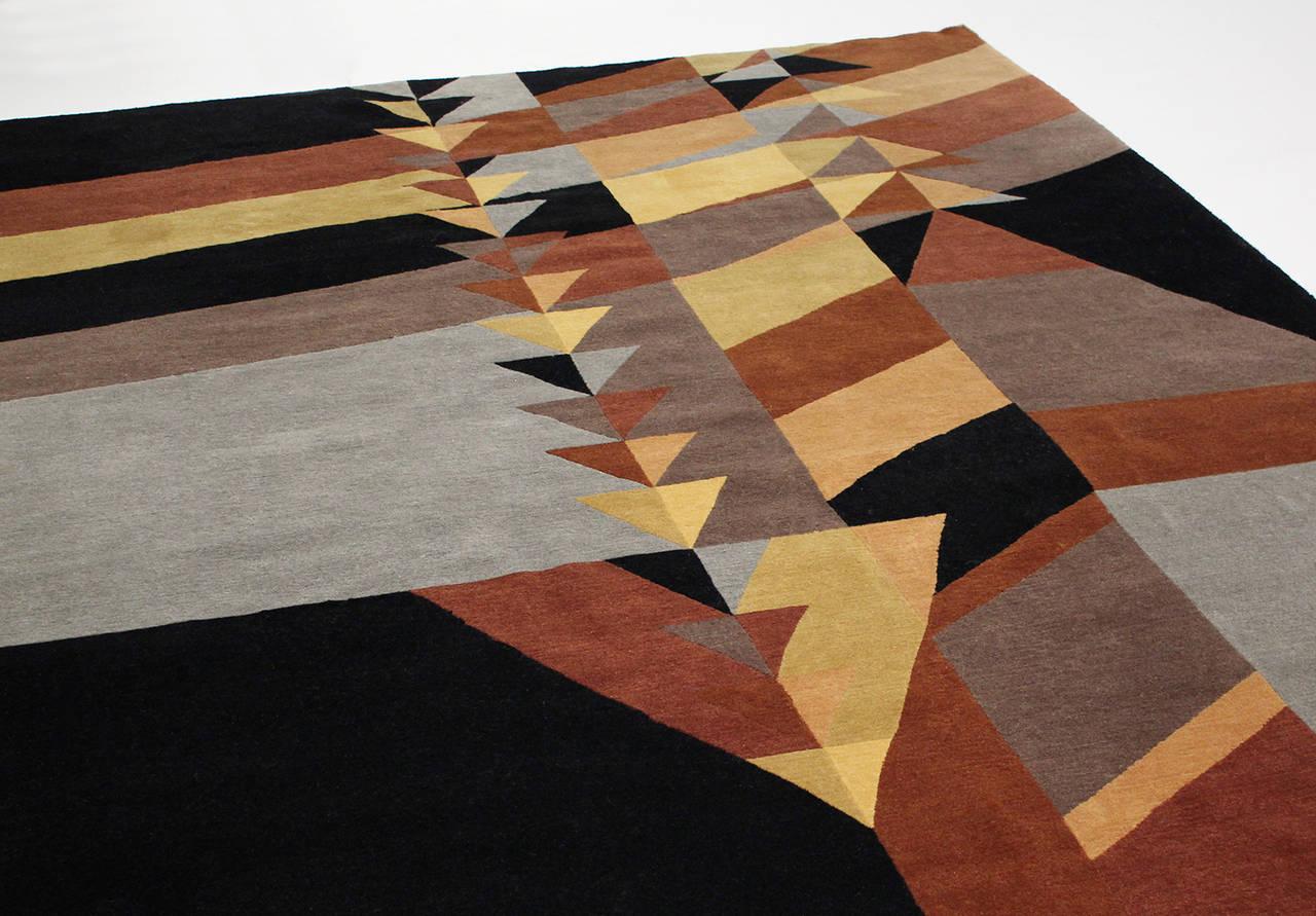 Frank lloyd wright rug at 1stdibs - Frank lloyd wright rugs ...