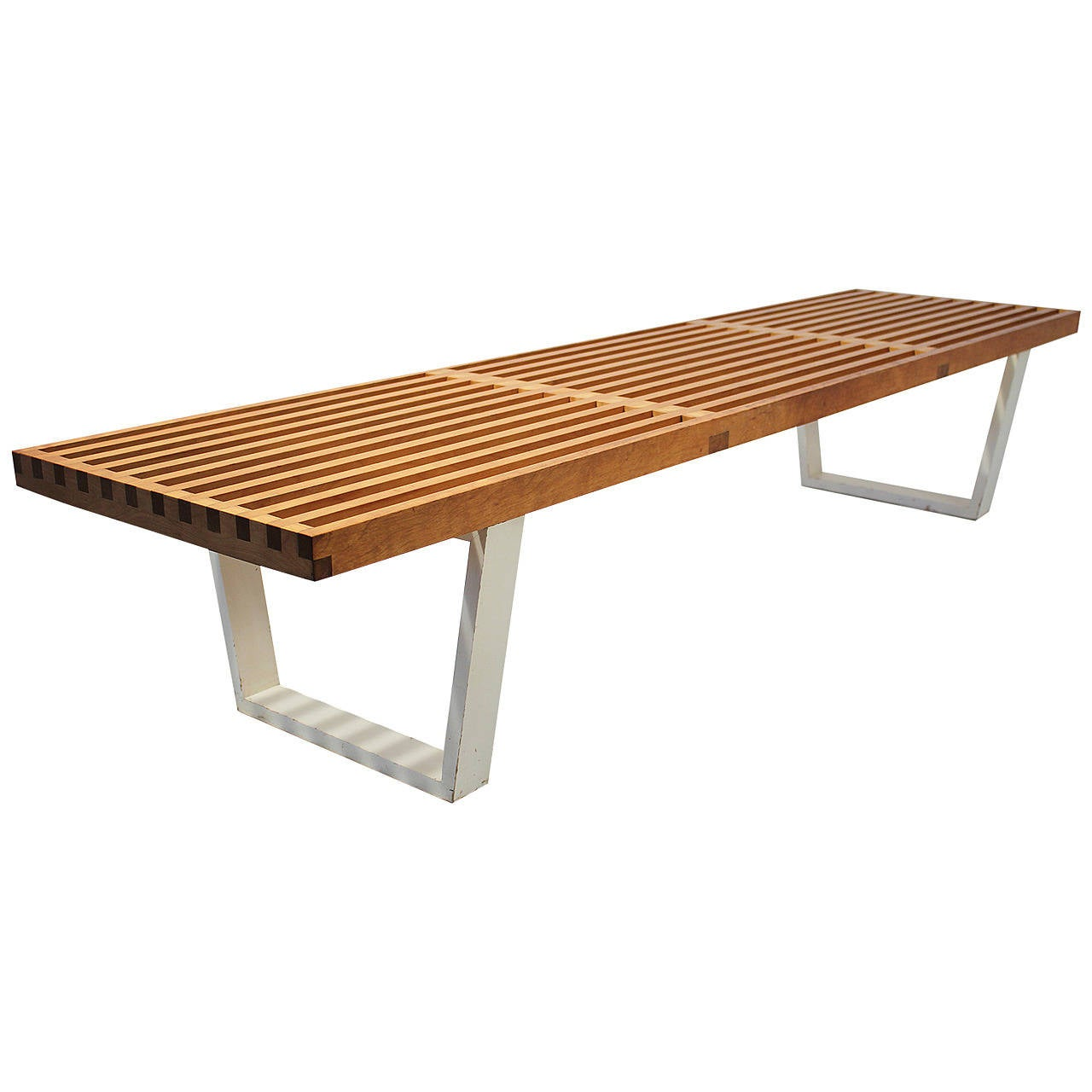 Custom Order George Nelson For Herman Miller Bench At 1stdibs