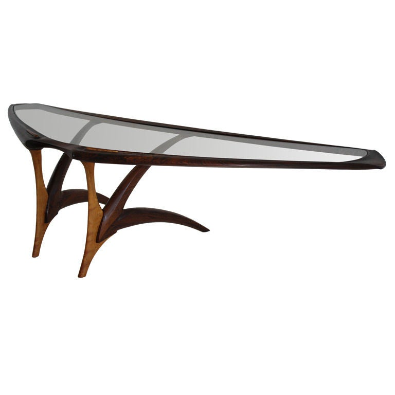 California Craftsman Coffee Table At 1stdibs