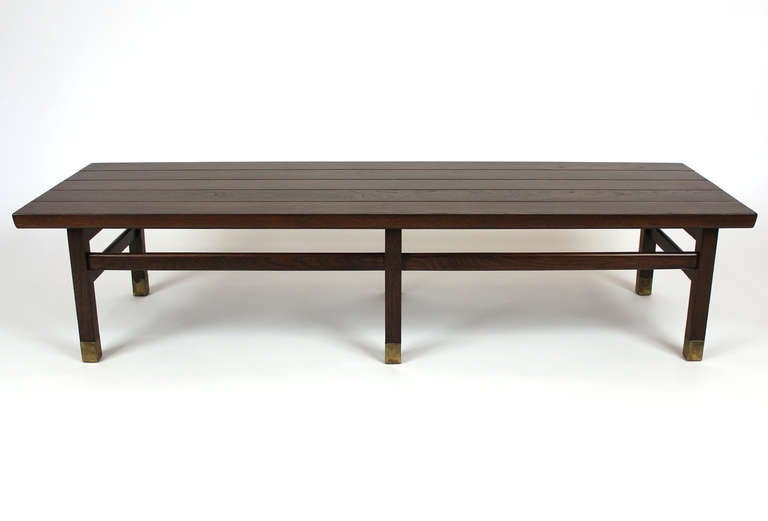 Mid-Century Modern Harvey Probber Coffee Cocktail Table For Sale