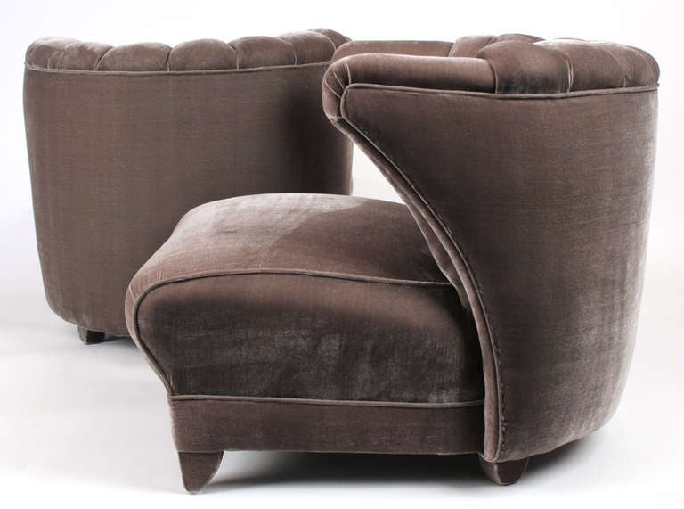 James Mont Pair of Lounge Chairs 2