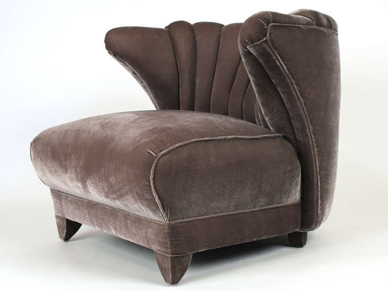 James Mont Pair of Lounge Chairs 7