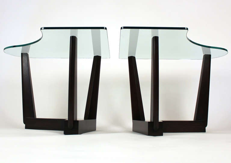 Paul Laszlo Custom End Tables In Excellent Condition For Sale In San Diego, CA