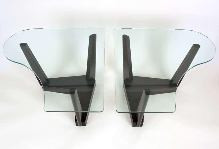 20th Century Paul Laszlo Custom End Tables For Sale