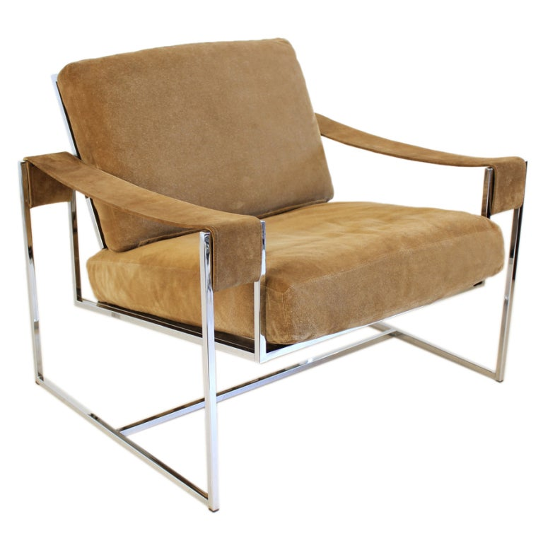 Milo Baughman Chair At 1stdibs