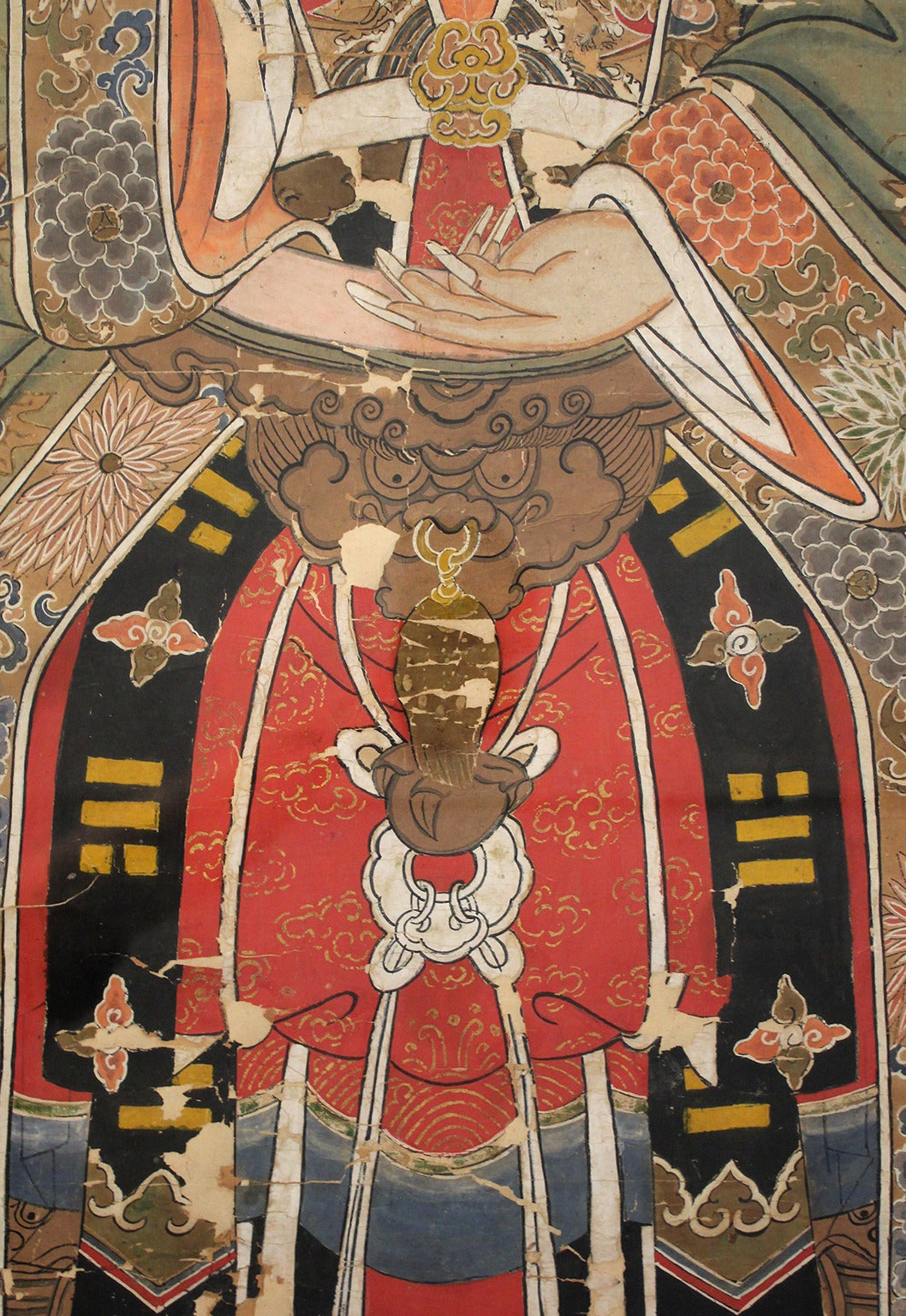 Antique Chinese Imperial Emperor Ancestral Painting For Sale 1