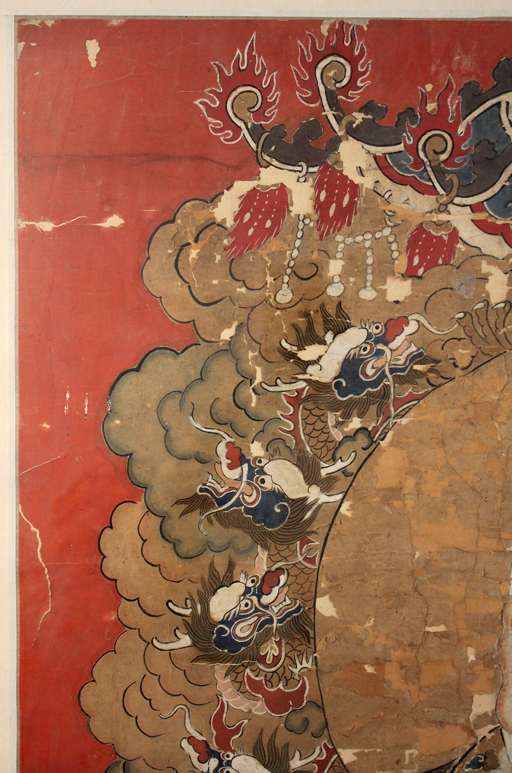 Antique Chinese Imperial Emperor Ancestral Painting For Sale 3