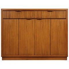 Drexel Expandable Dry Bar Cabinet