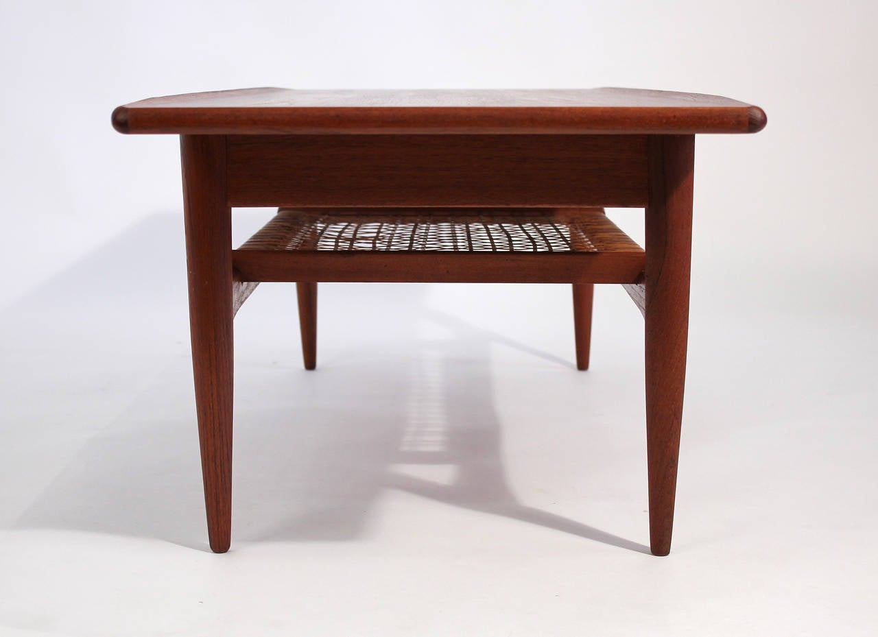 Hans wegner danish modern teak coffee table for sale at 1stdibs Modern teak coffee table