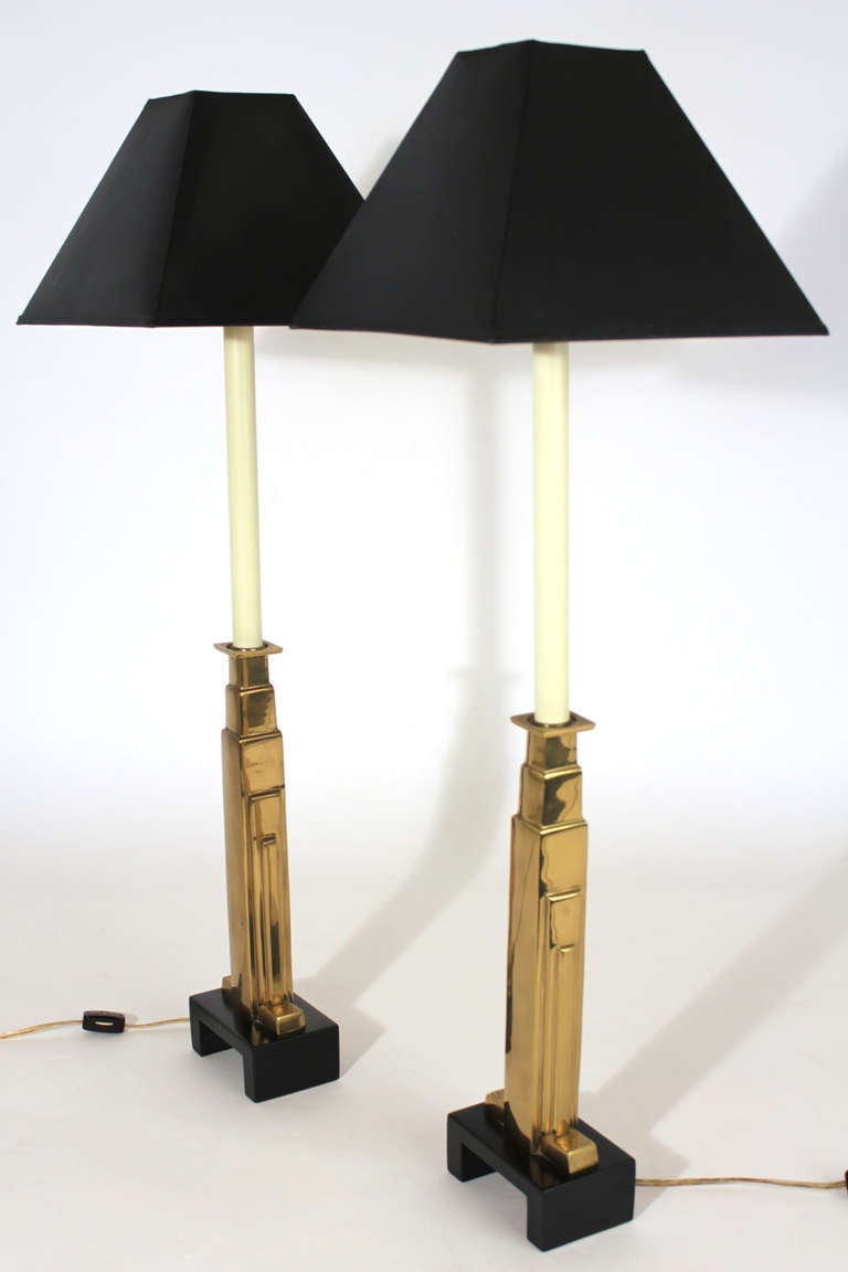 Chapman Lamp Pair For Sale At 1stdibs
