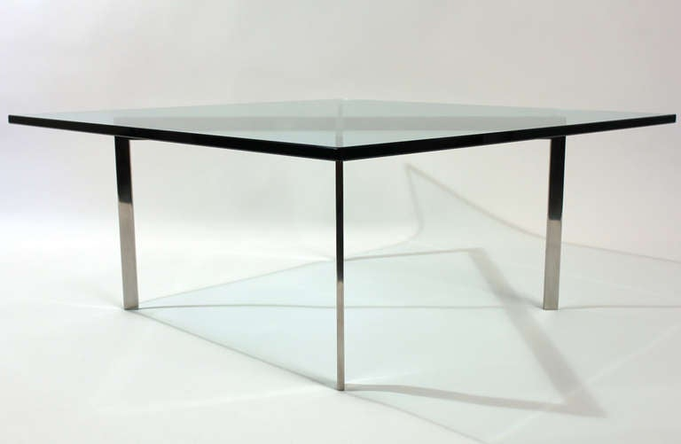 Knoll mies van der rohe barcelona table at 1stdibs - Barcelona table knoll ...