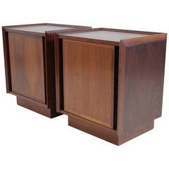Pair of Modernist Nightstands