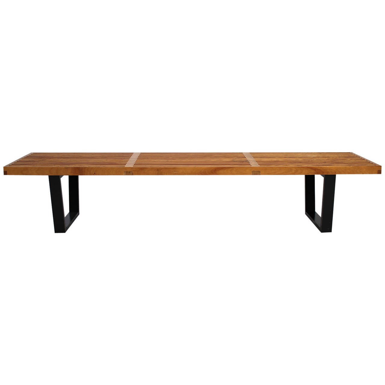 Vintage george nelson for herman miller bench at 1stdibs - Vintage herman miller ...