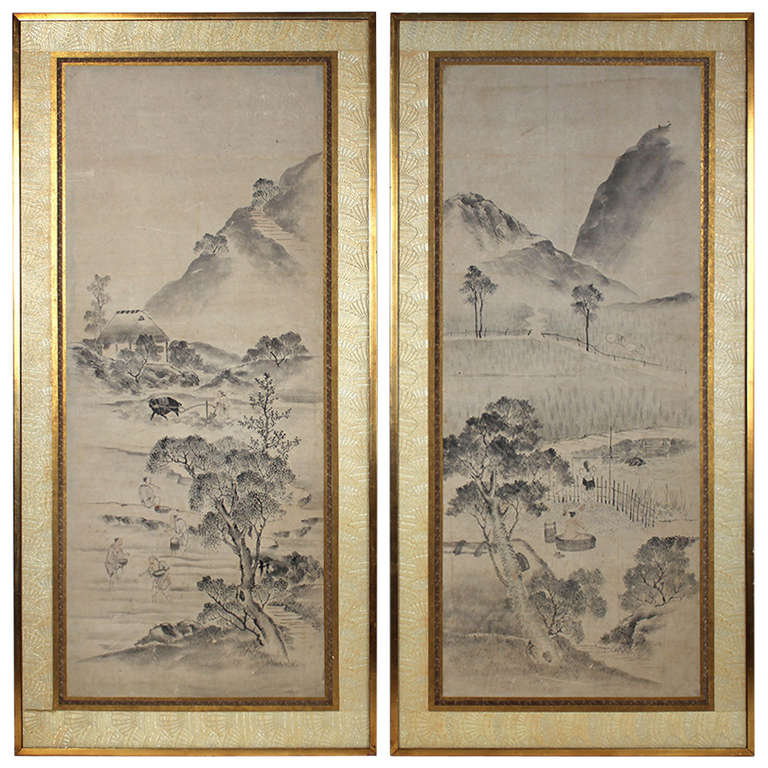 Oil Paintings Of Th Century Chinese