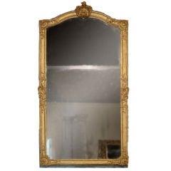 18c Regence Gilded Mirror