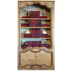 French Biblioteque Constructed from Paneled Room, Versailles, Boiserie