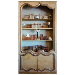 French Biblioteque Constructed from 18th-19th Century Boiserie
