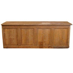 19c French Comptoir with 2 Drawers