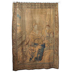 17th Century Allegorical Wall Tapestry