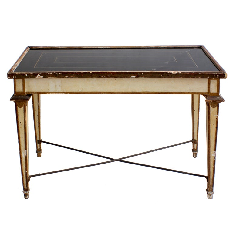 Louis xvi style italian petite coffee table at 1stdibs Tuscan style coffee table