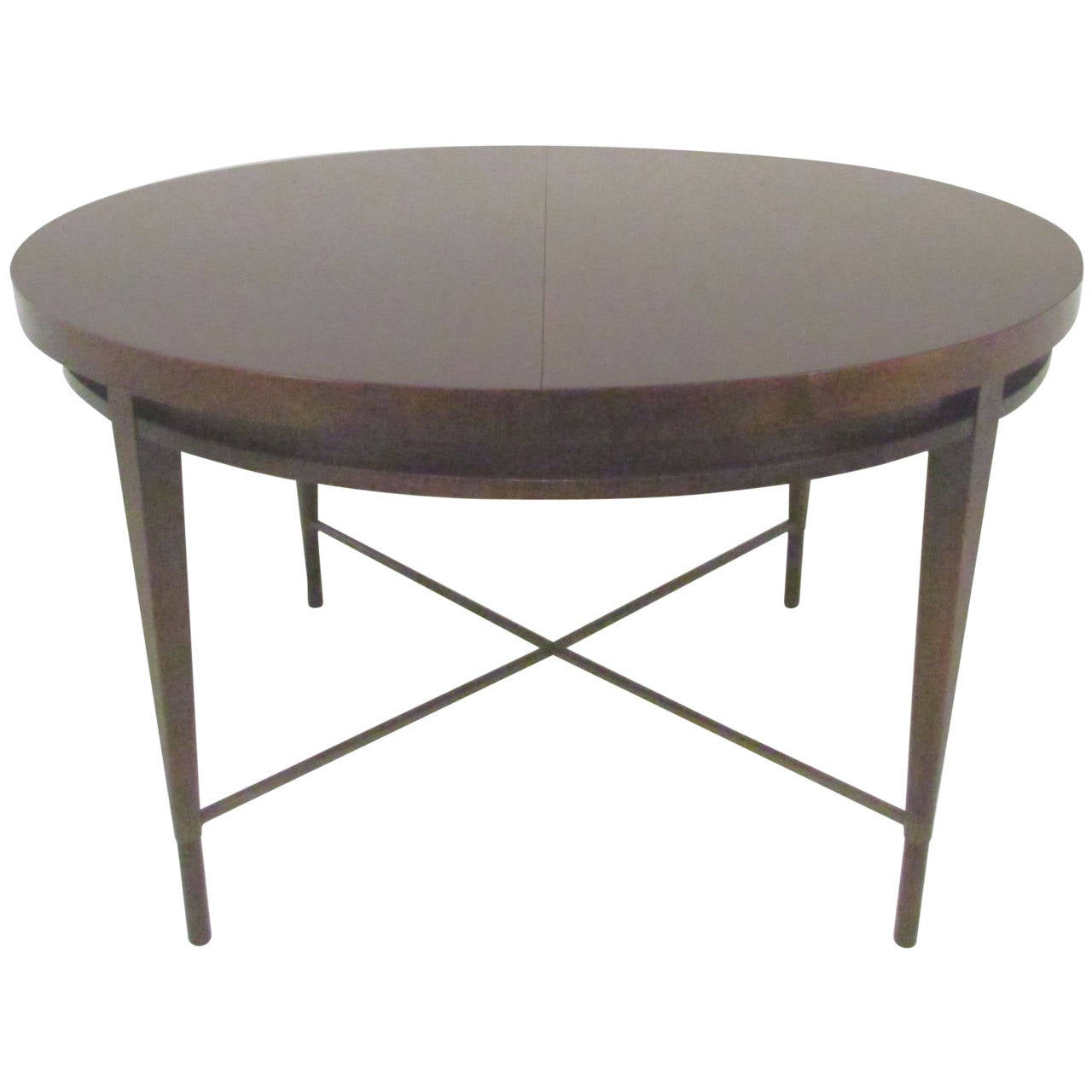 Mid century expandable dining table by paul mccobb for for Expandable furniture