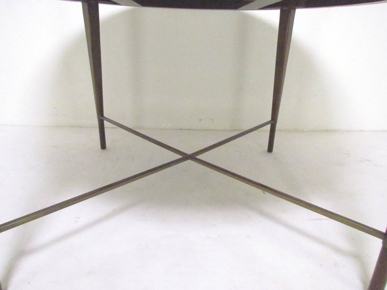 mid century expandable dining table by paul mccobb for
