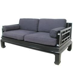 Baker Furniture Far East Collection Sofa circa 1950s