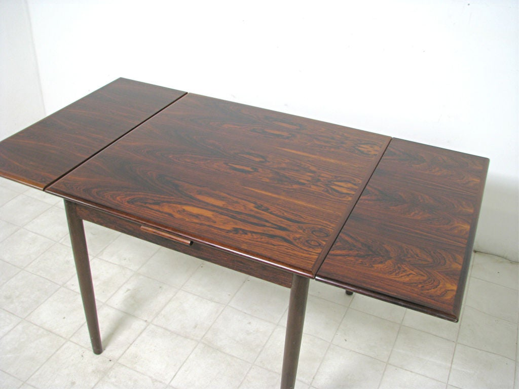 Danish Rosewood Extendable Dining Table w  Chairs ca  1960s 3Danish Rosewood Extendable Dining Table w  Chairs ca  1960s at 1stdibs. Rosewood Danish Dining Table And Chairs. Home Design Ideas