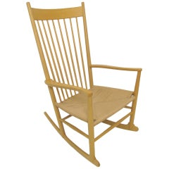 Danish Rocking Chair by Hans Wegner for FDB Mobler