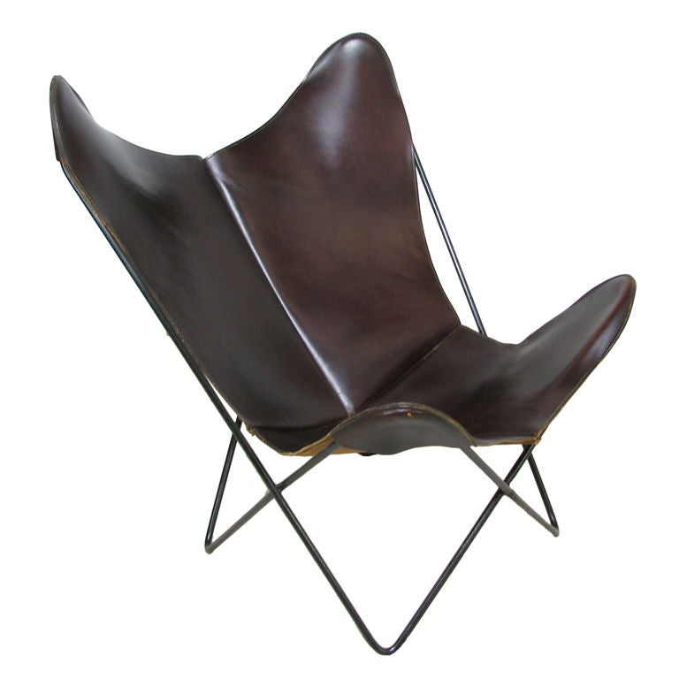 Butterfly Chair by Ferrari Hardoy ca 1950s at 1stdibs