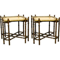 Pair of Tray Tables by Baker Furniture ca. 1960s