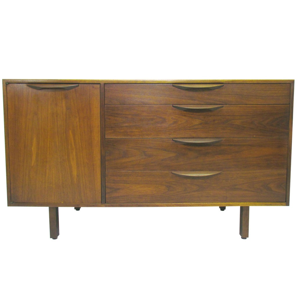 Mid Century Cabinet By Jens Risom At 1stdibs