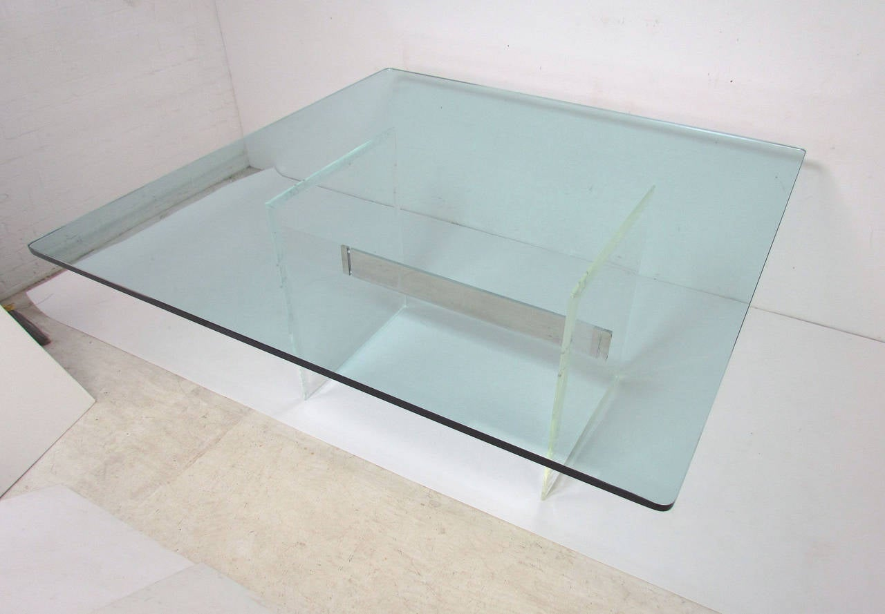 Square Glass Top Dining Table Home Furniture Tables Dining Room Tables