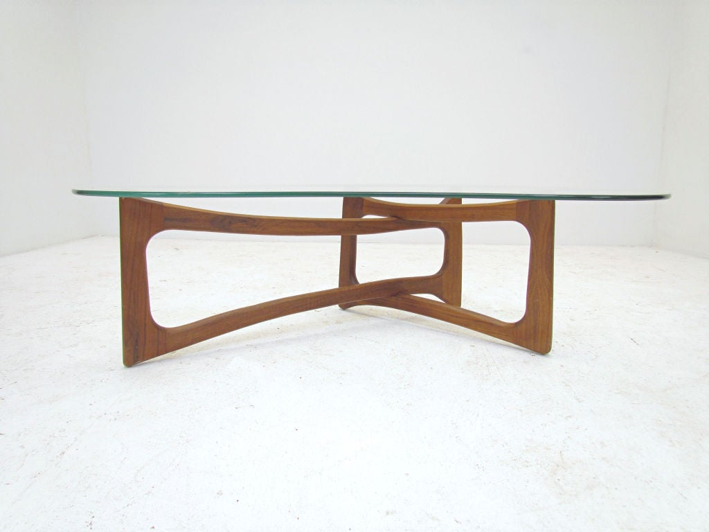 Rare Boomerang Coffee Table By Adrian Pearsall Ca 1960s