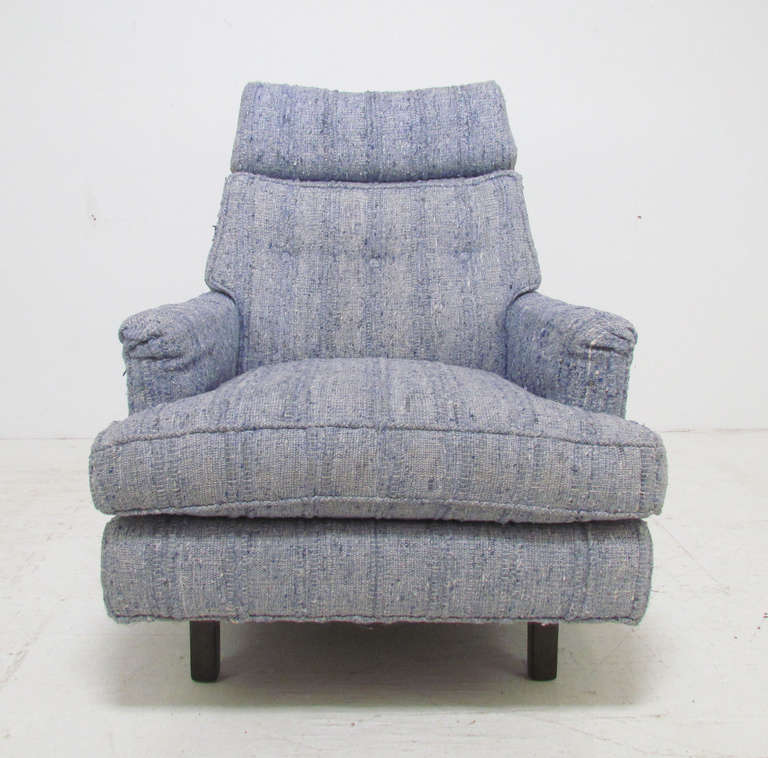 High Back Lounge Chair By Edward Wormley For Dunbar At 1stdibs