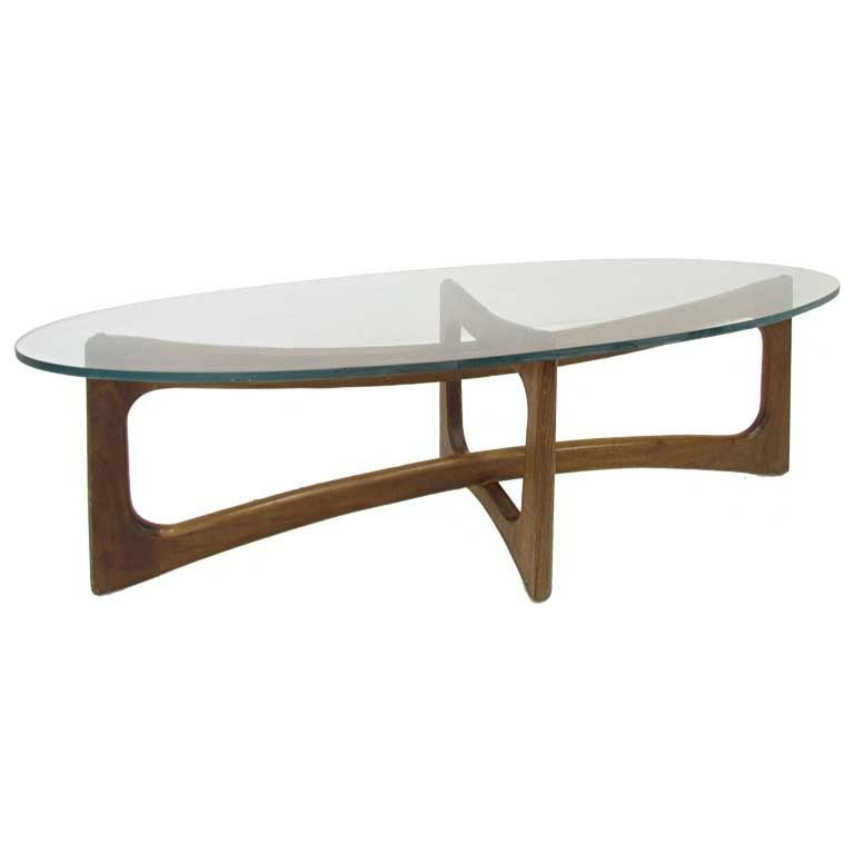 Mid Century Sculptural Coffee Table By Adrian Pearsall At 1stdibs