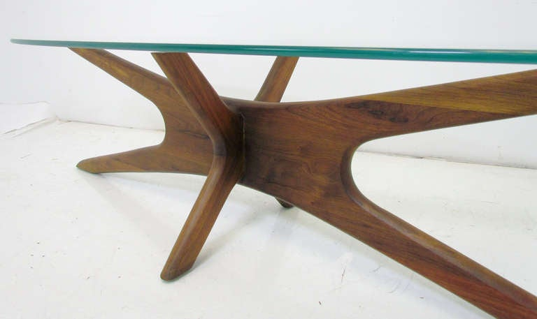 Sculptural Jacks Coffee Table By Adrian Pearsall Ca 1960s At