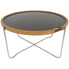 Danish Flip-Top Tray Table by Hans Wegner for GETAMA, circa 1970s
