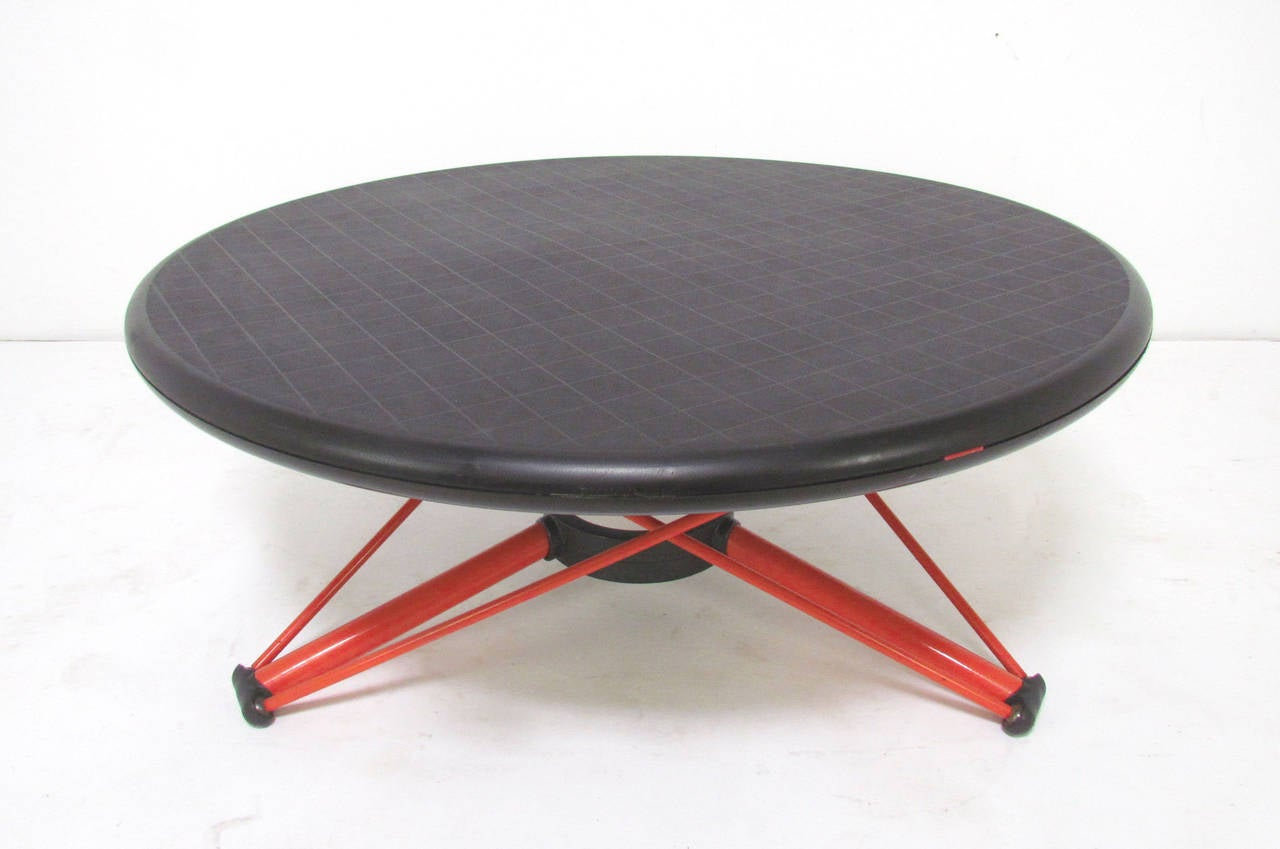 Memphis School Convertible Coffee to Dining Table by Andries and ...
