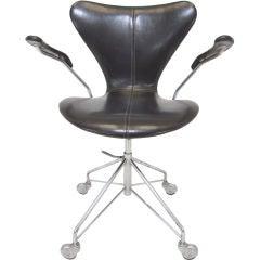 Series 7 Task Chair by Arne Jacobsen for Fritz Hansen, ca. 1960s