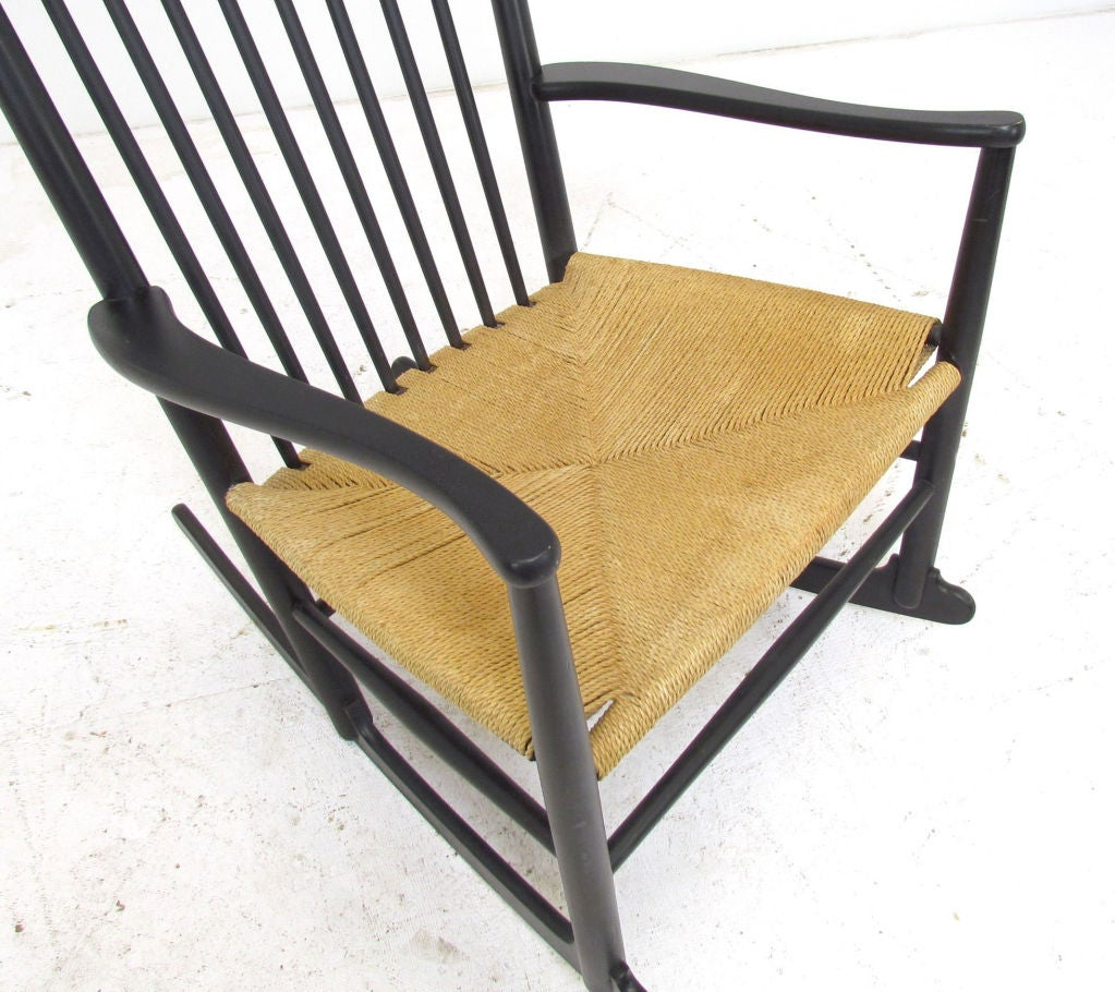 Danish Rocking Chair by Hans Wegner for FDB Mobler 1