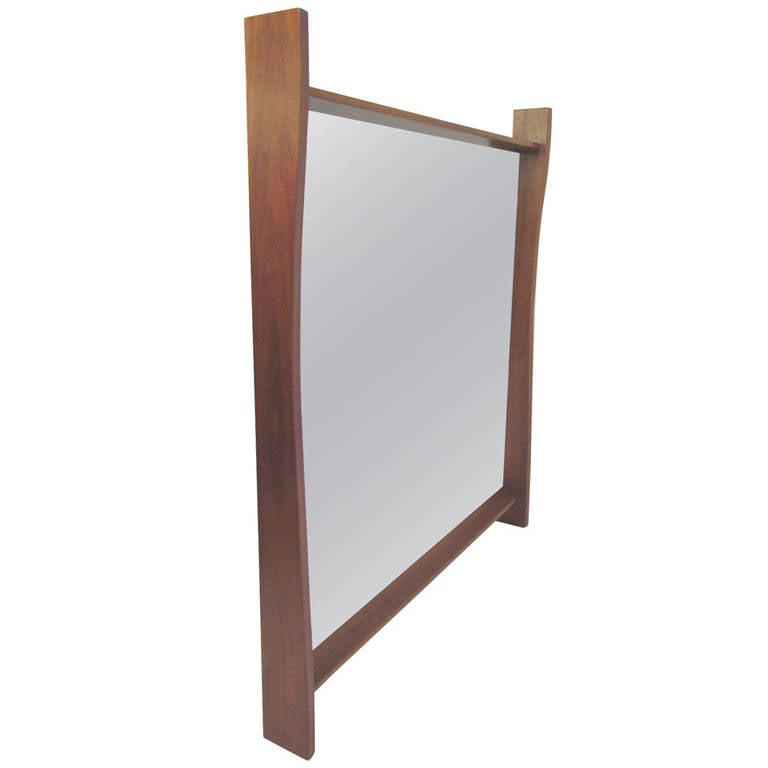 Large wall mirror by george nakashima for widdicomb for Huge wall mirrors for sale