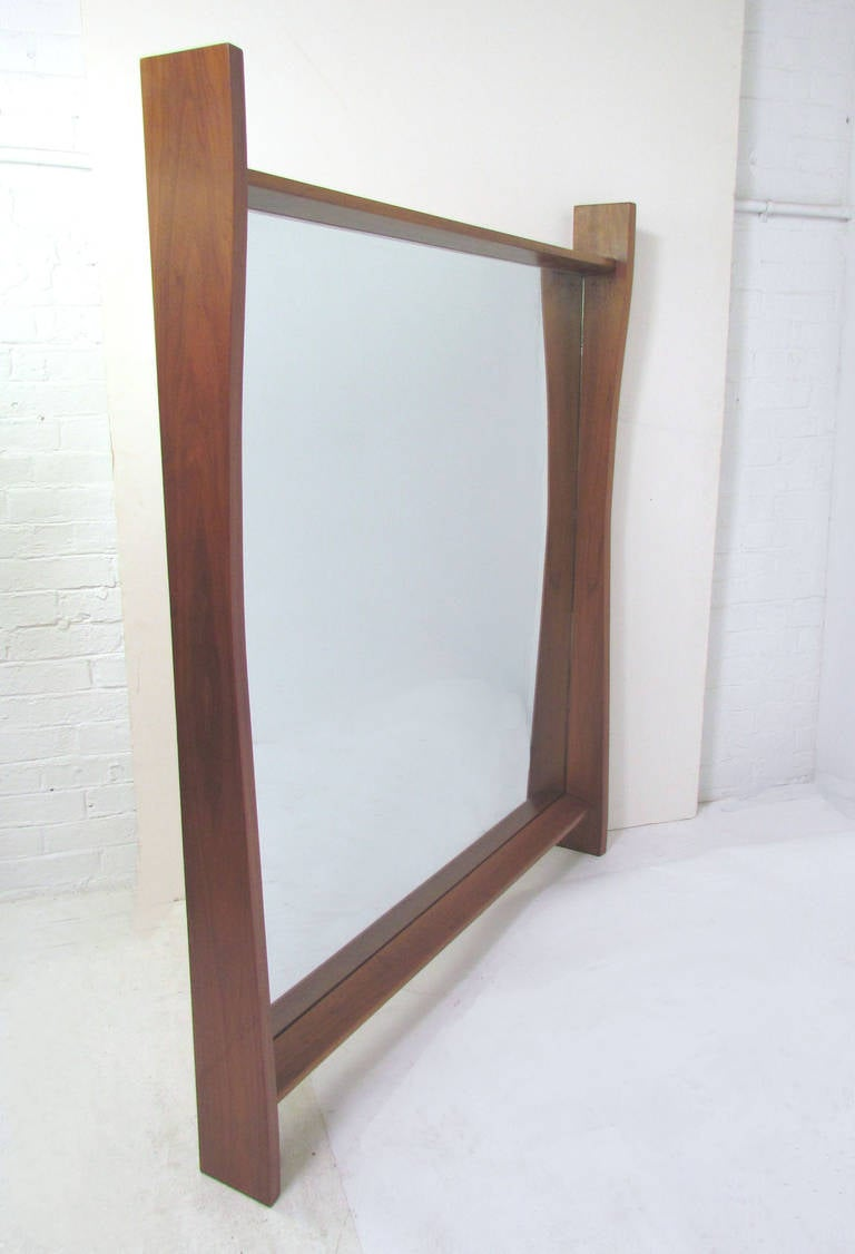Large wall mirror by george nakashima for widdicomb for Large wall mirrors for sale