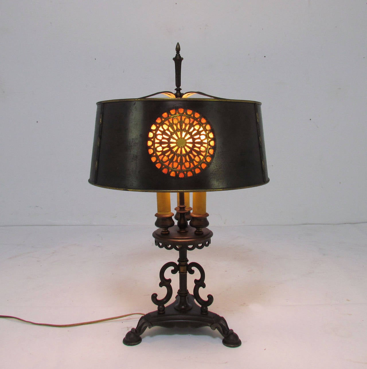 Spanish Colonial Revival Table Lamp by Mutual Sunset For Sale at ...
