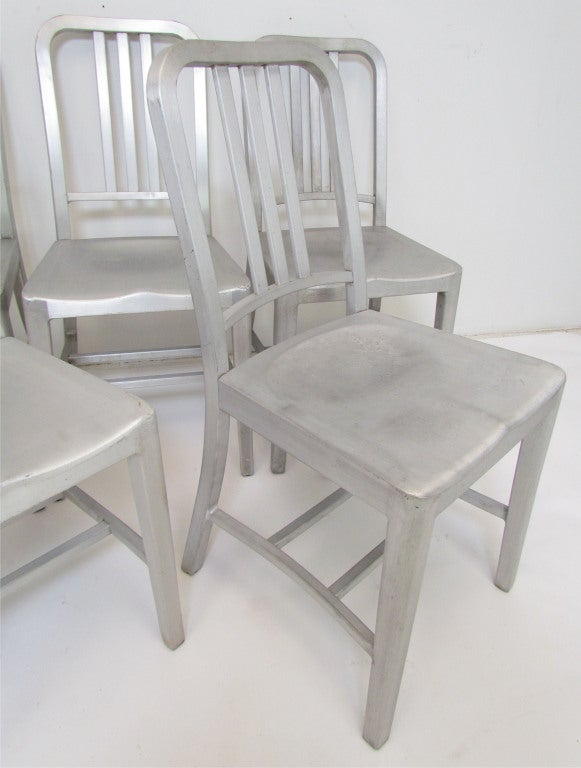 set of ten industrial dining chairs ca 1950s at 1stdibs